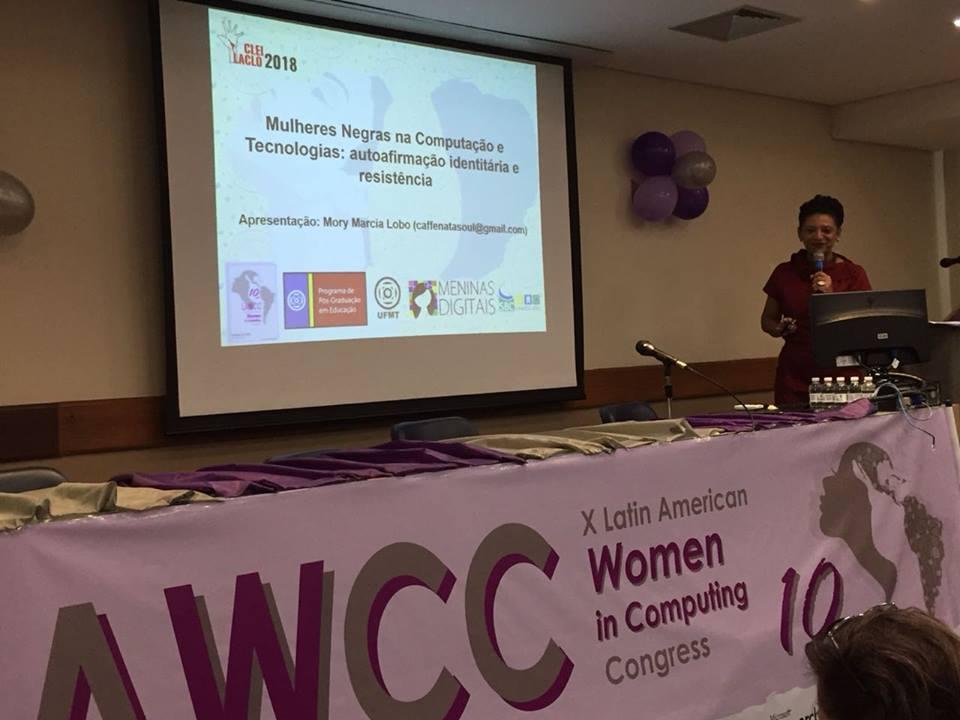 Participação no X Congresso da Mulher Latino-americana em Computação