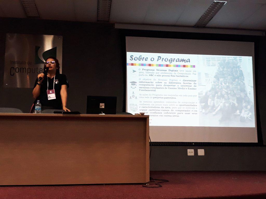 Palestra Fórum Include Meninas UFF 2018