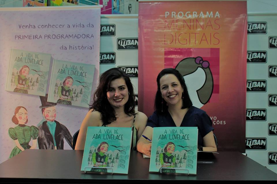 Lançamento do Livro A Vida de Ada Lovelace na Itiban Comic Shop