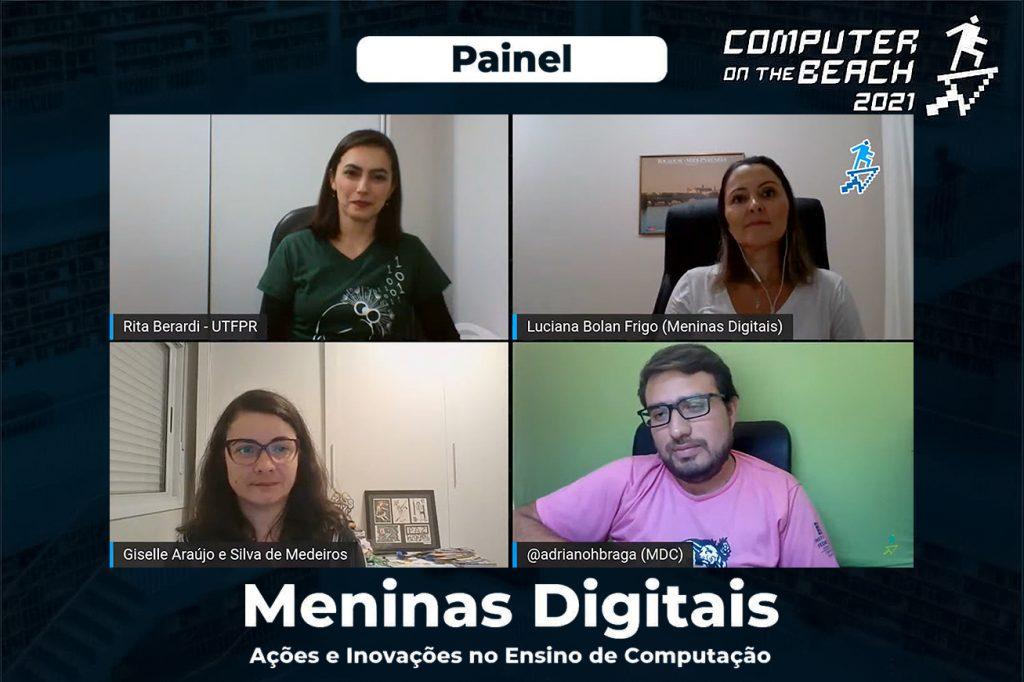 Painel Meninas Digitais na edição do Computer on the Beach 2021